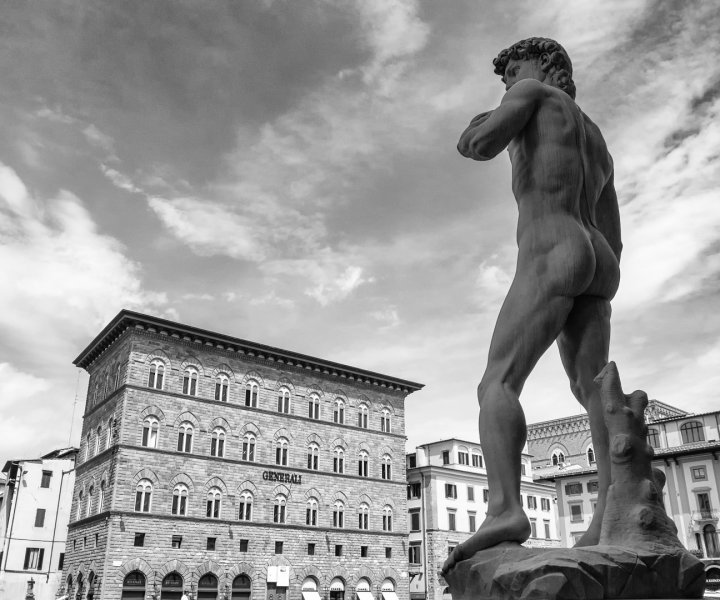 Florence David Michelangelo Italy Statue Sculpture